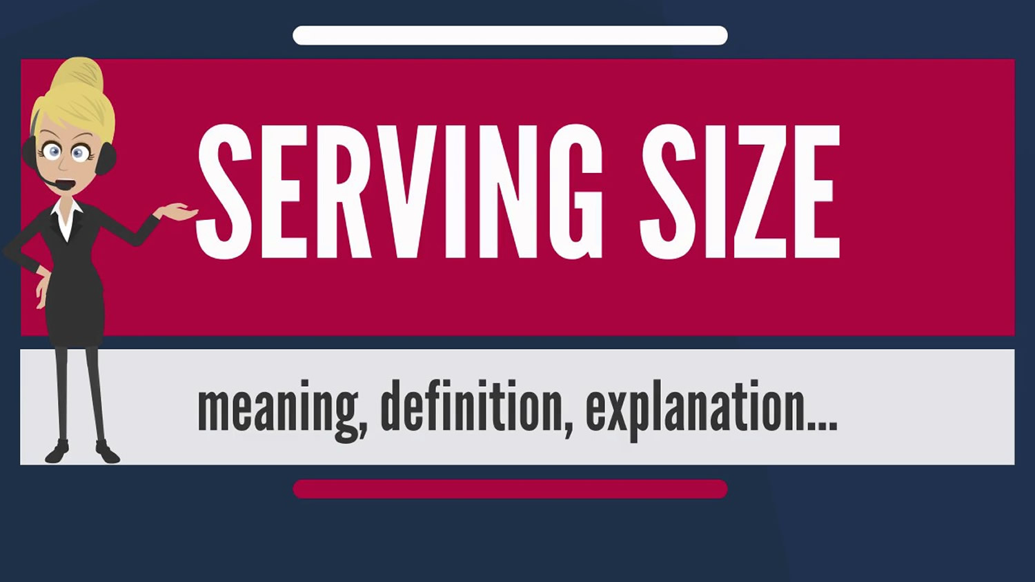 what is a serving size