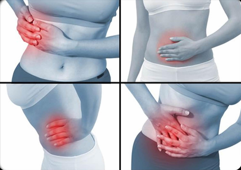 large intestine pain
