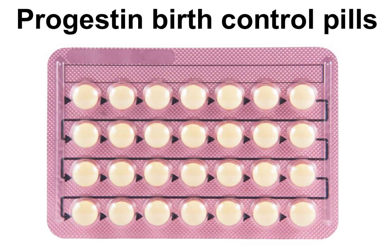 progestin birth control pills
